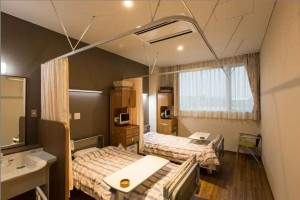 渡辺整形クリニック 2階 病室(二人部屋)