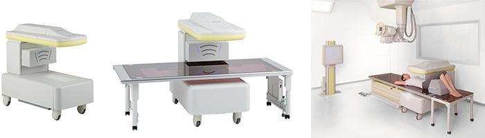 腰椎、大腿骨測定用 X線骨密度測定装置